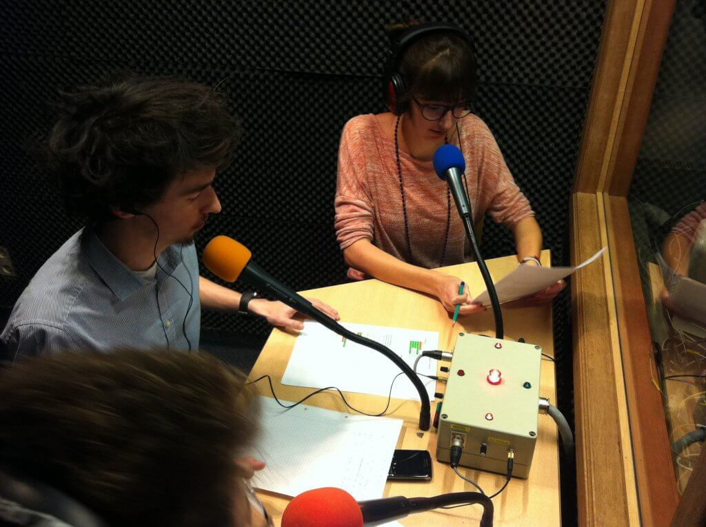 Bachelier en communication - radio