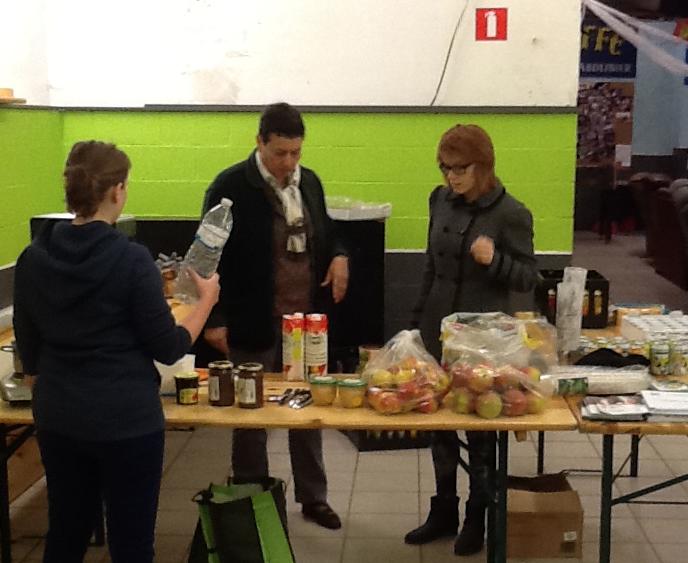 Petits déjeuners OXFAM à Fleurus