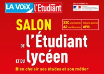 Salon de l 39 tudiant et du lyc en lille helha haute cole louvain en hainaut helha - Invitation salon de l etudiant ...
