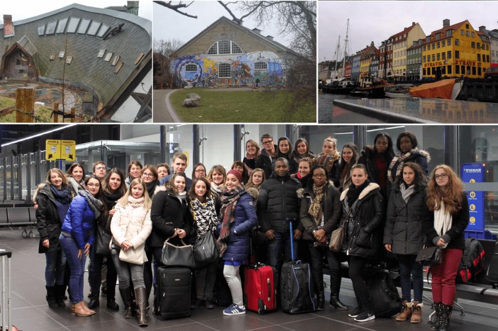Les étudiants du Bloc 3 du Département Social de Montignies sont partis en voyage d'études à Christiana (Copenhague, DK) les 2, 3 et 4 mars 2016.
