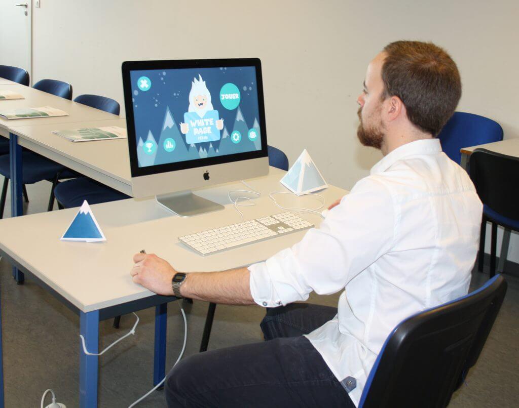Un jeu vidéo créé par les étudiants de la HELHa
