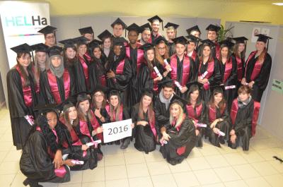 Cérémonie de remise des diplômes pour les bacheliers de Fleurus