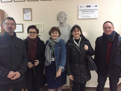 Partenariat européen avec le Lycée de  Formation Générale n°2 Adam Mickiewicz. ZESPÓŁ SZKÓŁ de Gdynia en Pologne.