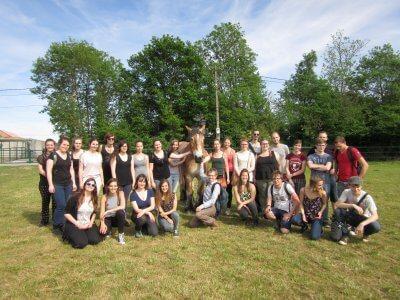 Etudiants solidaires à la HELHa de Fleurus
