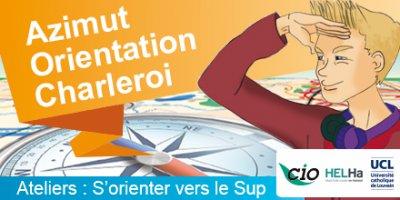 Azimut orientation – Des ateliers gratuits à Charleroi pour réfléchir à ton choix d'études supérieures !