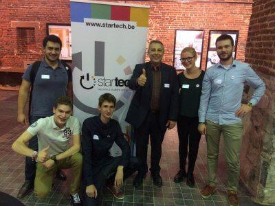 Développement de l'Esprit d'Entreprendre : Participation à la finale Startech d'étudiants – ingénieurs