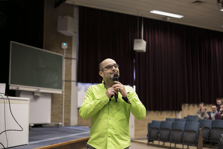 """Fred Colantonio """"Entreprendre pour devenir le héros de sa propre trajectoire"""" - Conférence à la HELHa à Mons"""