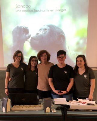 « Banso po na bonobo ! » (« Tous ensemble pour les bonobos ! »)