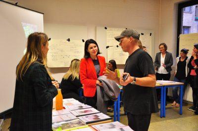 Vitrine de l'Aide à la Jeunesse en présence de la Ministre Valérie Glatigny à Louvain-la-Neuve