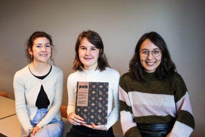 La couverture du magazine PUB réalisée par des étudiantes de la HELHa