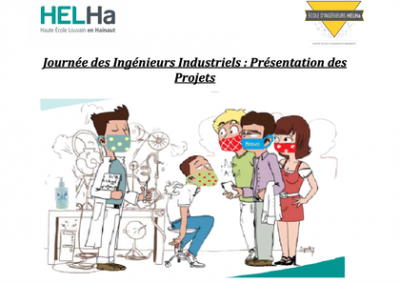 Ingéniosité et persévérance pour nos étudiants Ingénieurs Industriels de BLOC 1
