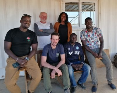 Louis Vanhoutvinck, étudiant en construction, est parti faire son stage au Sénégal !