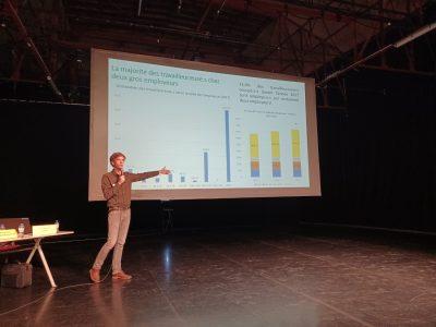 La HELHa s'est penchée sur l'évolution de l'emploi dans le domaine des arts du spectacle