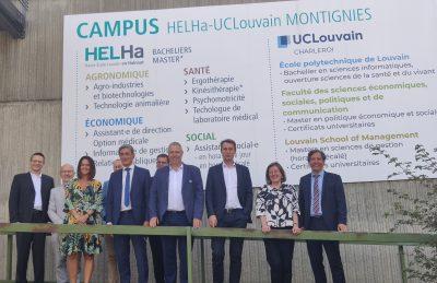 Inauguration du bachelier en sciences de l'informatique en partenariat avec l'UCLouvain et l'UNamur