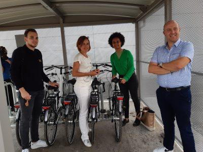 Mobilité douce à Tournai
