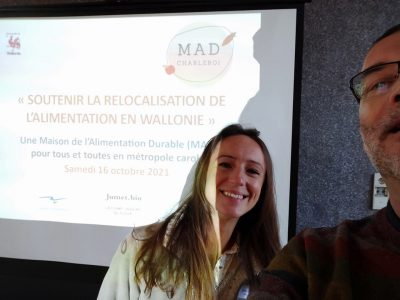 La HELHa, partenaire de la Maison de l'Alimentation Durable de Charleroi